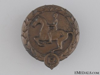 Young Horseman's Badge