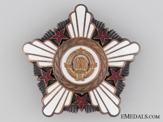 Yugoslavian Order of the Republic 1961-1991