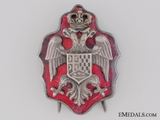 Yugoslavian Royal Yugoslav NCO's Cap Badge