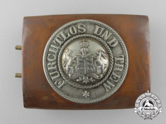 A First War Württemberg Belt Buckle