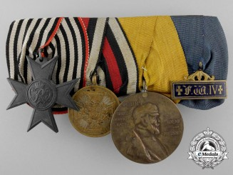 A Franco-Prussian War Group of Four Awards & Decorations