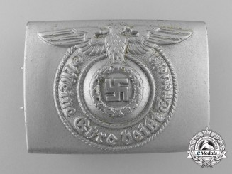 A Mint SS EM/NCO's Belt Buckle by F.W. Assmann & Söhne
