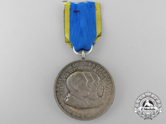A Hessen 11th Jäger Battalion 25th Anniversary Medal