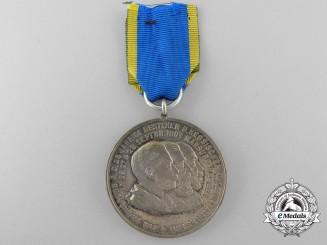 A Hessen 11th Jäger Battalion 25th Anniversary Medal
