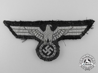A Tunic Removed Panzer Breast Eagle