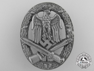 A General Assault Badge by  Hermann Wernstein