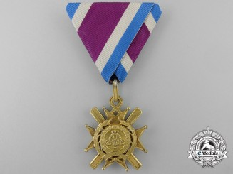 A Serbian Order of Takovo; Bronze Cross