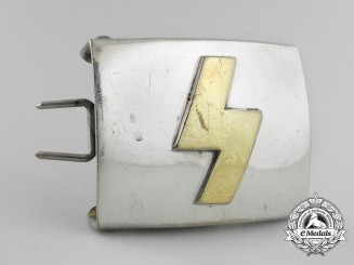 A German Youth (Deutsches Jugend = DJ) Belt Buckle