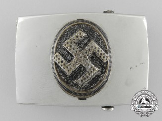 An NSDAP Youth (NSDAP Jugend) Belt Buckle by Berg and Nolte, Lüdenscheid