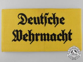 A Deutsche Wehrmacht Armband
