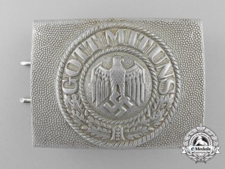An Army (Heer) Enlisted Man's Belt Buckle