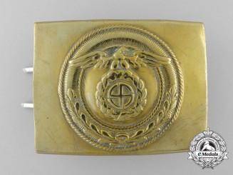 An SA (Sturmabteilungen) Enlisted Man's Belt Buckle