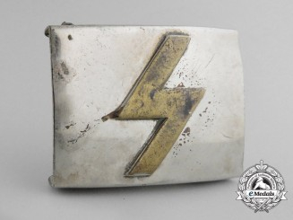 A German Youth (Deutsches Jungvolk = DJ) Belt Buckle