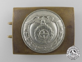 An SA (Sturmabteilungen) Enlisted Man's Belt Buckle with