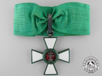 Hungary, Kingdom. An Order of Merit, Commander's Cross