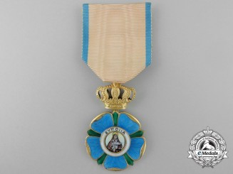 A Greek Order of Beneficence; Gold Cross
