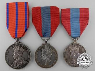 Three British Medals and Awards
