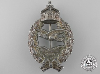 A First War Prussian Pilot's Commemorative Badge