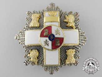 Spain, Franco Period. A Order of Military Merit, Breast Star