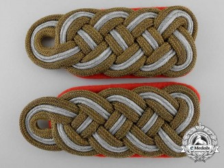 A Fine Set of Early German Army General Shoulder Boards c.1937
