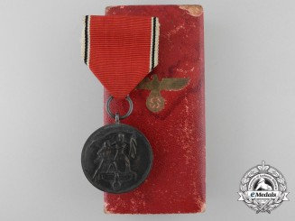 A Commemorative Medal for 13 March 1938; Type II with Case