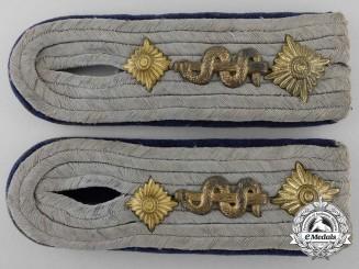 A Set of Army Medical Officer Shoulder Boards