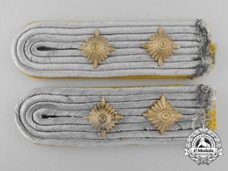 A Set of Captain Rank Luftwaffe Flight Personnel Shoulder Boards
