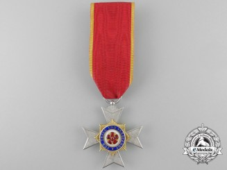 A Lippe-Detmold House Order of Merit Cross; Third Class