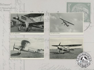 "Four Wartime Photos of the Focke-Wulf Fw. 56 ""Stösser"""