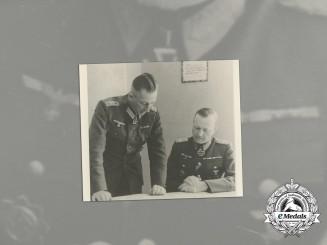 A Wartime Period Photo of KC Recipient Lieutenant General