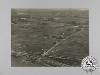 Three First War RAF Reconnaissance Photographs Taken on October 7, 1918