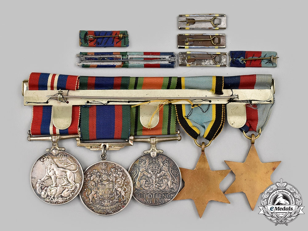 Canada, Commonwealth. An Air Crew Europe Campaign Medal Group