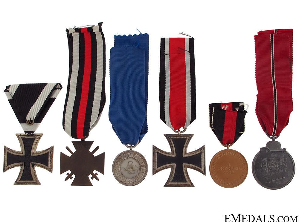 Six German Medals