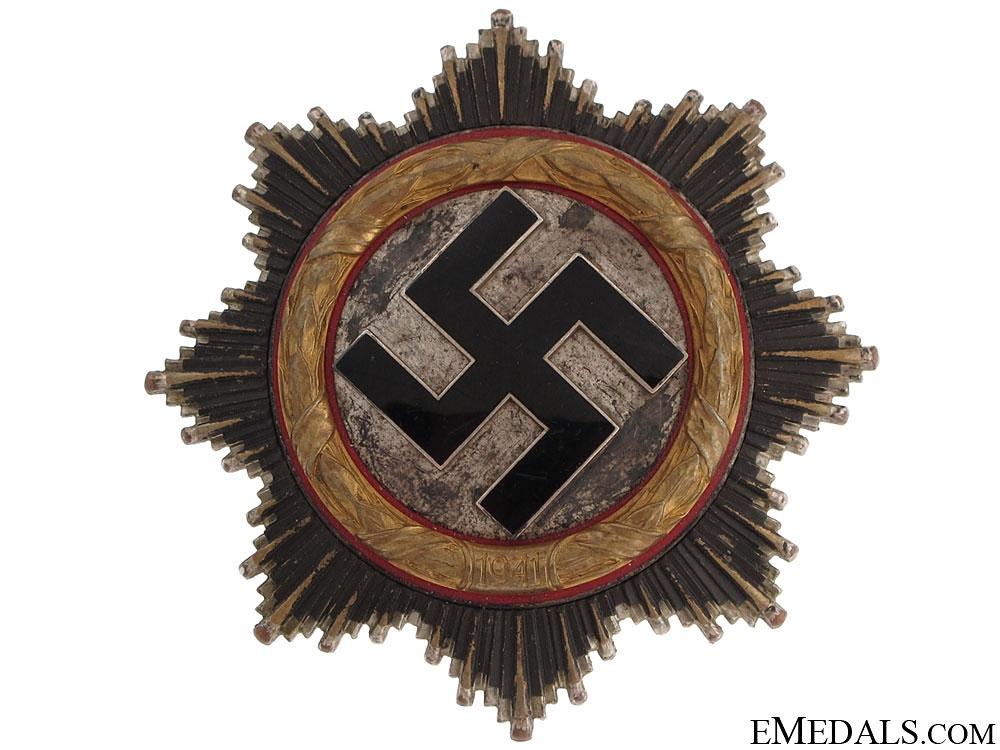 A German Cross in Gold by Zimmermann