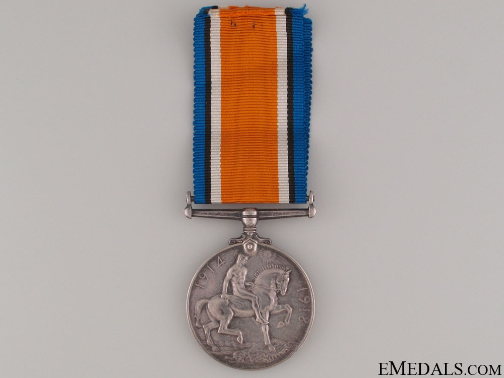 WWI British War Medal - Western Ontario Reg.