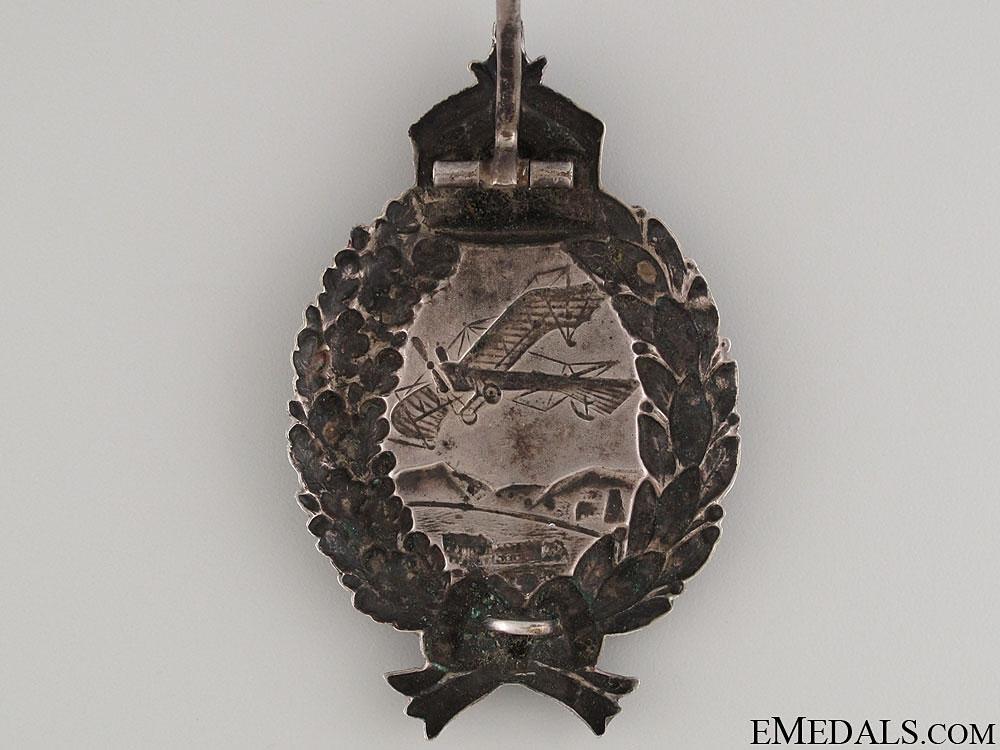 WWI Prussian Pilot's Badge - Unmarked Juncker