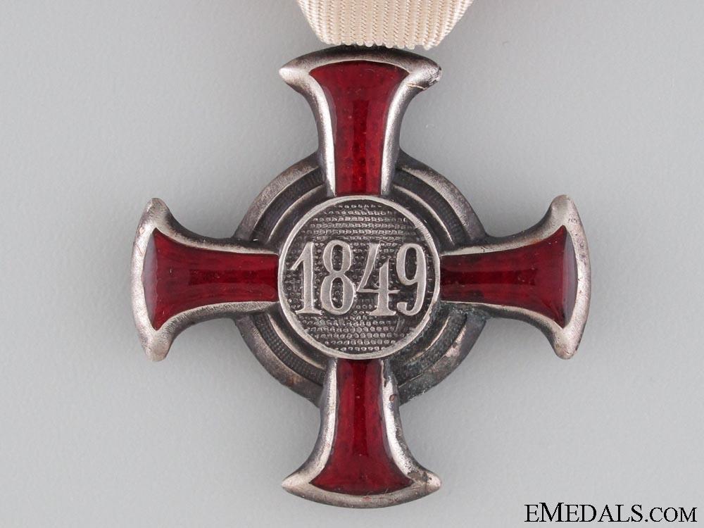 An Austrian Silver Cross of Merit