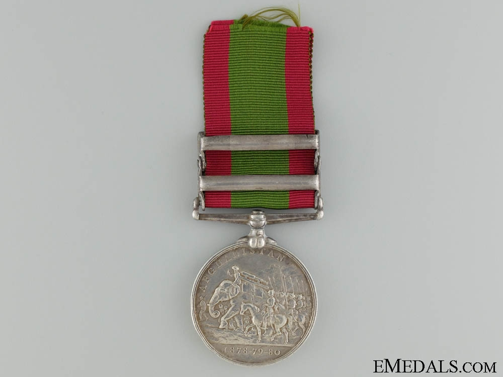 An Afghanistan Medal to the 2nd Sikh Infantry