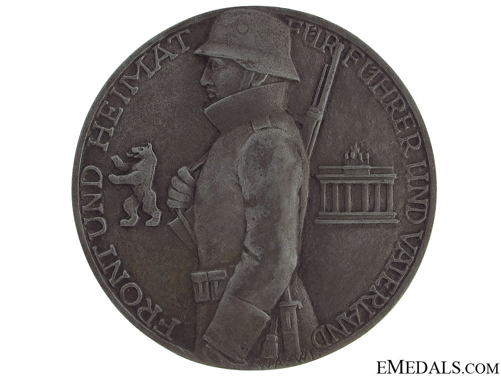 A 1942 West Wall Merit Medal