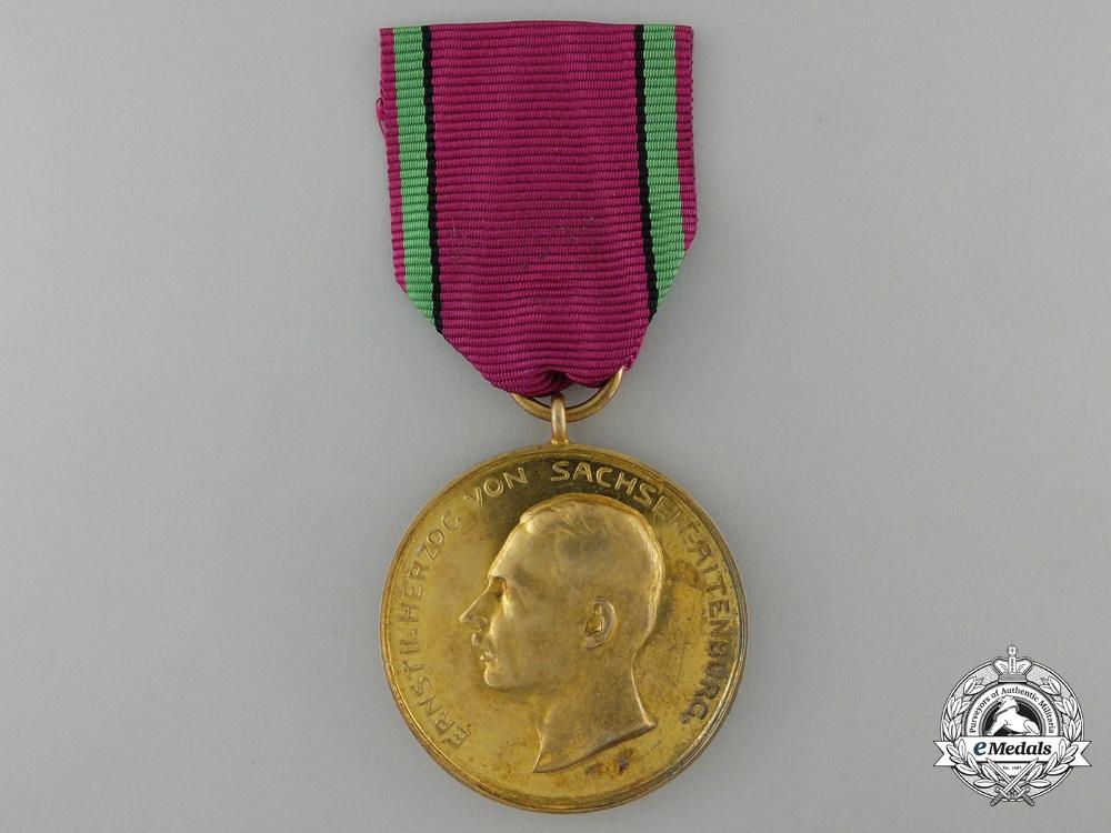 A 1916 Saxon Golden Merit Medal