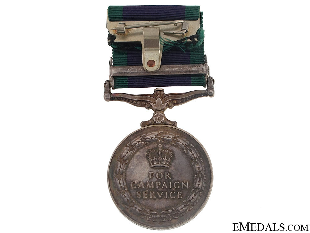 General Service Medal - King's Own Scottish Borderers