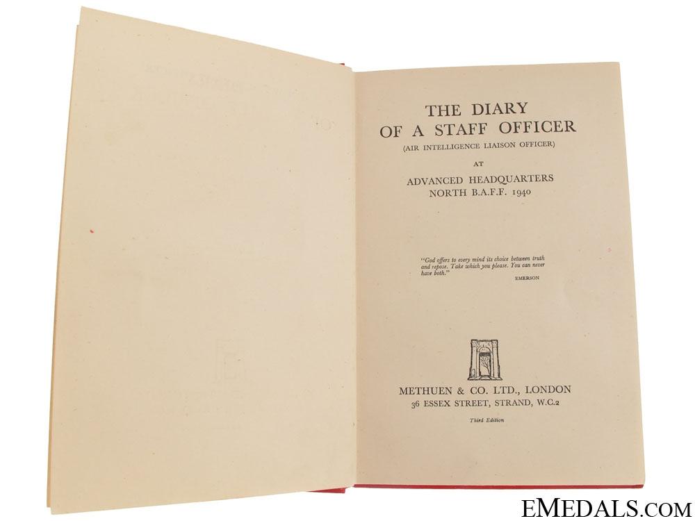 Major-General Price J. Montague Signed Book