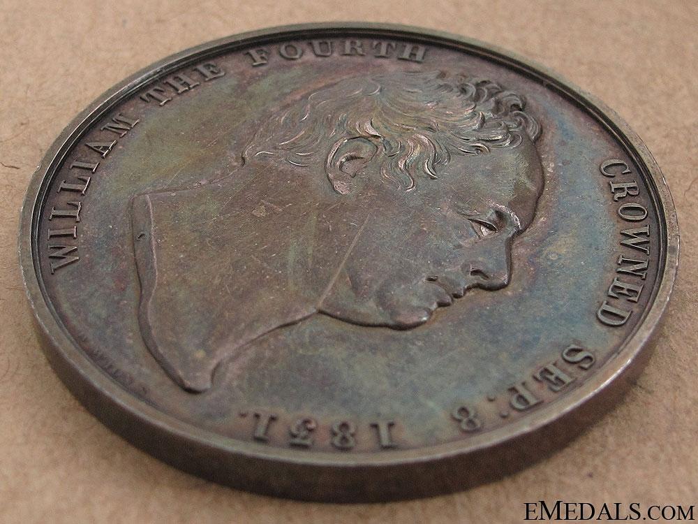 1831 William IV Coronation Medal
