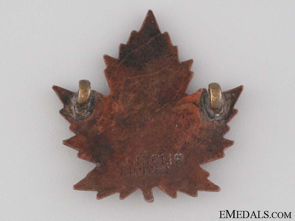 WWI 38th Infantry Battalion Collar Tab CEF