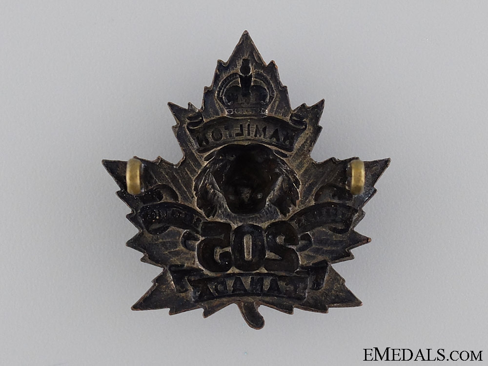 WWI 205th Infantry Battalion Officer's Cap Badge CEF
