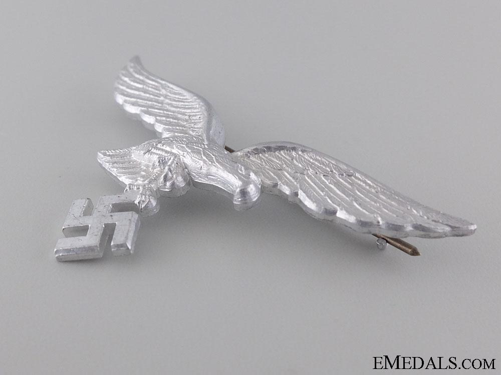 A Luftwaffe Eagle Cap Badge by F.W.Assmann
