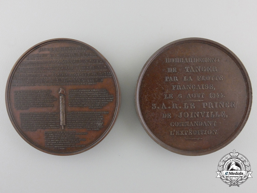 Two French Commemorative Table Medals c.1835