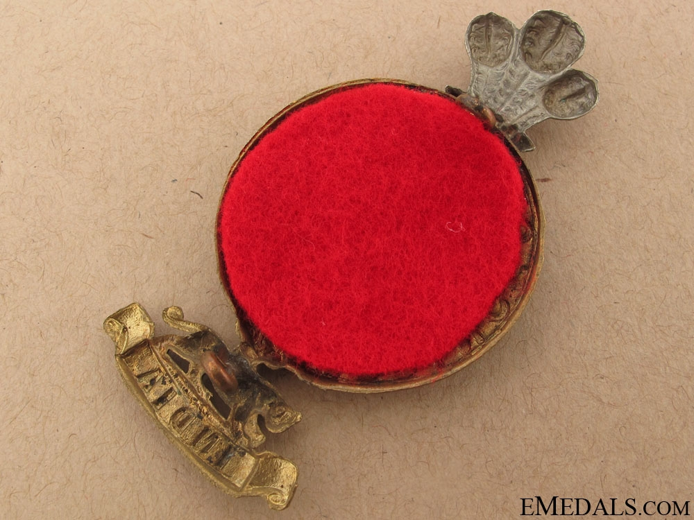14th Foot Glengarry Badge