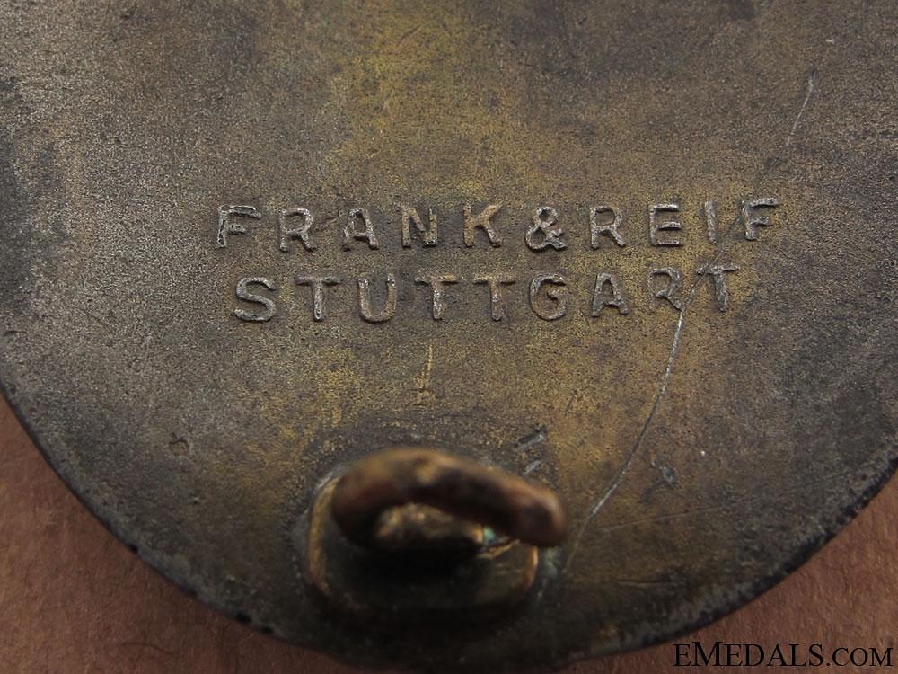 Tank Badge – Bronze Grade, Frank & Reif