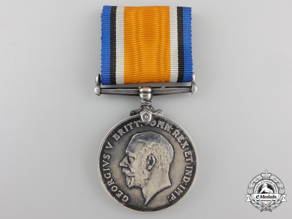 A First War Medal to the Central Ontario Regiment